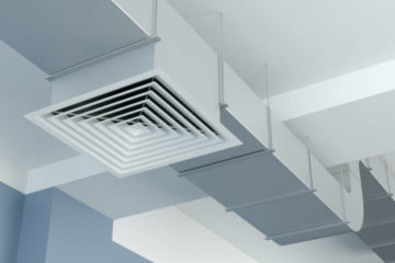 ventilation duct, 3d Illustration
